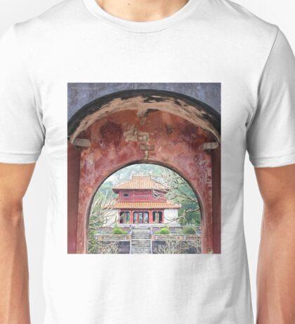 Doorway to the past - Hue, Viet Nam. Unisex T-Shirt