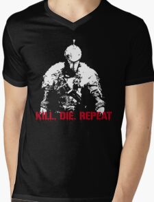 Kill, die, repeat Mens V-Neck T-Shirt