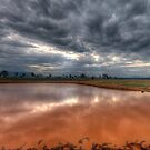 I'll Be Dammed Capertee Reflections - Capertee Valley, NSW Australia - The HDR Experience by Philip Johnson