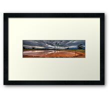 I'll Be Dammed Capertee Reflections - Capertee Valley, NSW Australia - The HDR Experience Framed Print