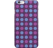 Retro pattern in circles iPhone Case/Skin