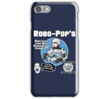RoboPops Cereal Box Mashup iPhone Case/Skin
