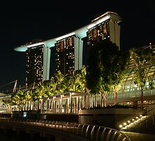Marina Bay Sands Hotel, Singapore by PhotosByG