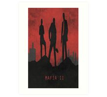 Mafia 2 Game Poster Art Print