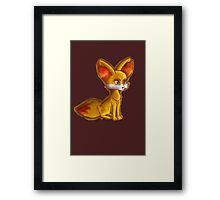 Fire Fennekin Pokemon  Framed Print