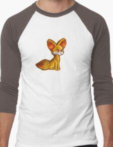 Fire Fennekin Pokemon  Men's Baseball ¾ T-Shirt