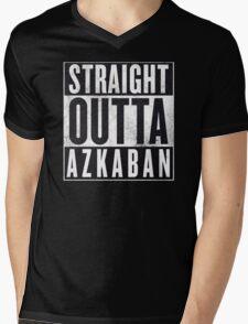 Straight Outta Azkaban Mens V-Neck T-Shirt
