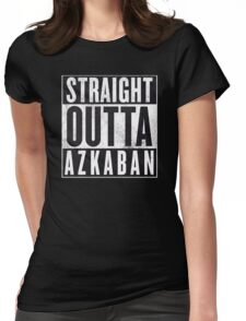 Straight Outta Azkaban Womens Fitted T-Shirt