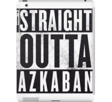 Straight Outta Azkaban iPad Case/Skin