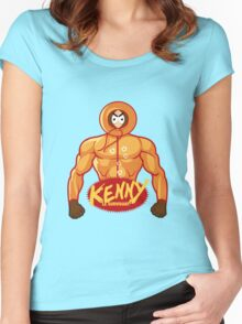 Hokuto No Kenny Women's Fitted Scoop T-Shirt