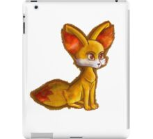 Fire Fennekin Pokemon  iPad Case/Skin