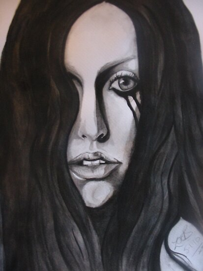 lady gaga by zoe bladen