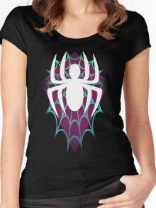 Spider Gwen Design Women's Fitted Scoop T-Shirt