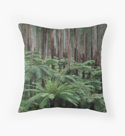 Fern Soldiers of the Forest  Throw Pillow