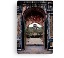 Another doorway to the past Canvas Print
