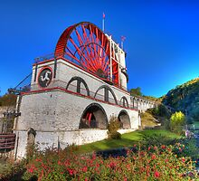 The Laxey Wheel - Isle of Man by Richard  Cubitt