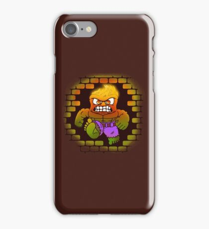 DONT MAKE HIM ANGRY iPhone Case/Skin