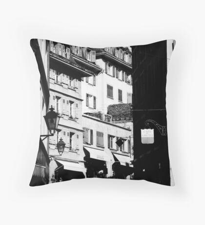 Swiss Alley Throw Pillow