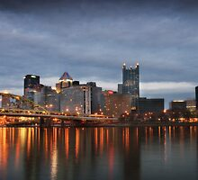 Early Spring in Pittsburgh by Christopher Jamison
