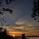 Oshie's Sunset by Randall Scholten