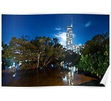 Q1 | Surfers Paradise | Gold Coast | Australia Poster