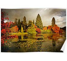 Autumn colours, Sheffield Park Poster