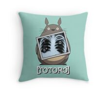 Scrubs Totoro Throw Pillow