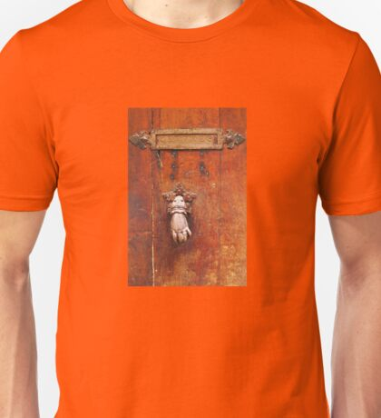 Vintage letter box in Saint Tropez, French Riviera  Unisex T-Shirt