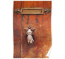 Vintage letter box in Saint Tropez, French Riviera  Poster
