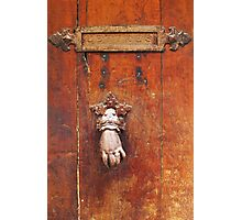 Vintage letter box in Saint Tropez, French Riviera  Photographic Print