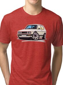 VW Golf (Mk1) GTi White Tri-blend T-Shirt