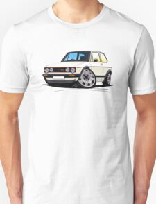VW Golf (Mk1) GTi White T-Shirt
