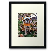Happy Halloween to One and All Framed Print