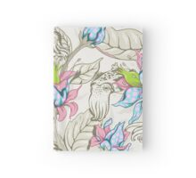 The Sea Garden - pastel Hardcover Journal