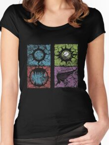 The Lost and the Dammed Women's Fitted Scoop T-Shirt
