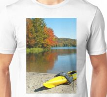 Yellow Kayak Unisex T-Shirt