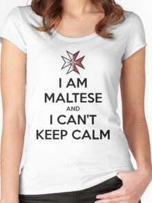 I Am Maltese Women's Fitted Scoop T-Shirt
