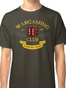 Wargaming Club Badge Classic T-Shirt