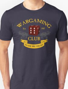 Wargaming Club Badge Unisex T-Shirt