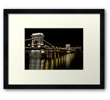 Across the Water II Framed Print