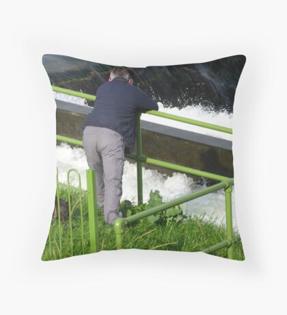 The 'Immediately Before' Shot Throw Pillow