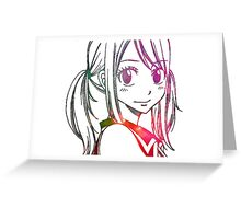 Lucy Heartfilia Greeting Card