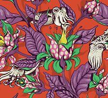 The Sea Garden - retro pop by celandinestern