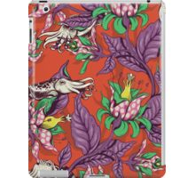 The Sea Garden - retro pop iPad Case/Skin