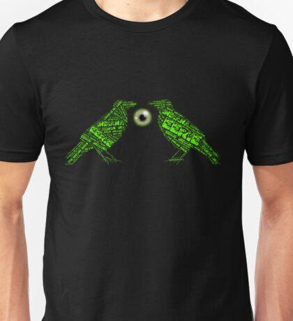 Joe Dante Eerie Indiana Crows with Geen Eyeball Unisex T-Shirt