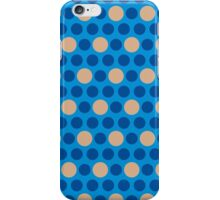 Pattern with circles iPhone Case/Skin