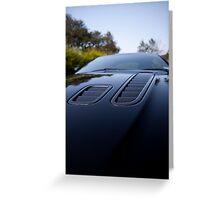 Aston Martin Greeting Card