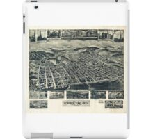 View of Frostburg Maryland by T.M. Fowler (1905) iPad Case/Skin