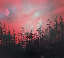 Rusty Night by Rozalia Toth