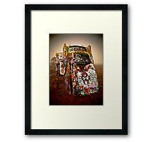 Cadillac Ranch - Texas  Framed Print